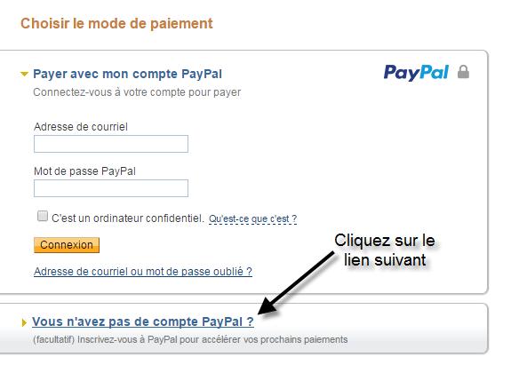 Comment payer sans compte paypal les berceuses enchant es - Payer en plusieurs fois paypal ...